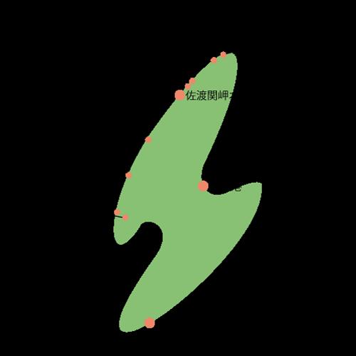 佐渡関岬オートキャンプ場 周辺マップ